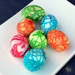 Marbled Eggs for Easter - Mud Mates Messy Play Blog