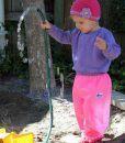 Pink Children's Overpants