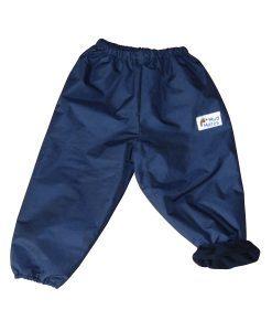 Navy Fleece Lined Overpants