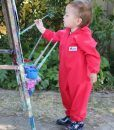 Red Children's Coveralls
