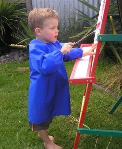 Royal Blue Children's Craft Apron