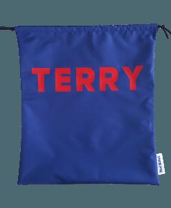 Blue Waterproof Personalised Swimming Bags