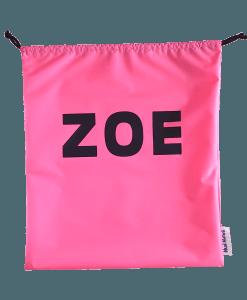 Pink Personalised Swim Bags