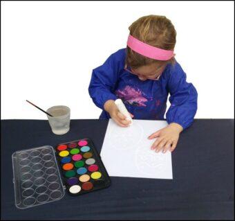 Mud Mates Messy Play Adventures Blog: Crayon Resist Easter Eggs