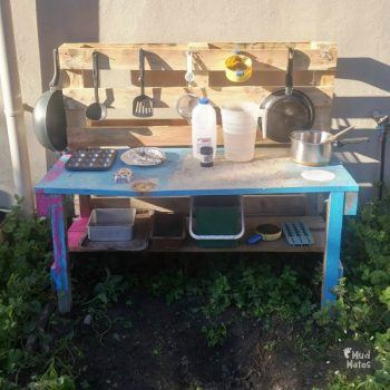 How to Build a Mud Kitchen for Kids