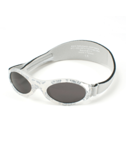 Silver Rose Leaf Kids Sunglasses